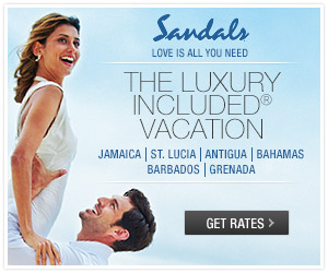 Sandals vacation logo