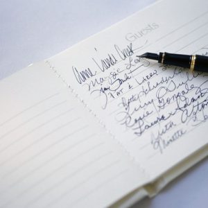 Are you Invited Guest Book