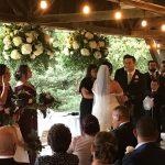 Arbour Wedding Ceremony