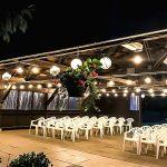 Evening Wedding Ceremony Arbour Parkwood Estate